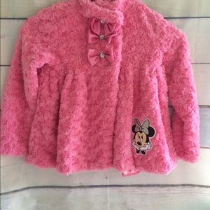 Girl Pink Disney Minnie Mouse Coat